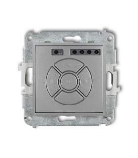 MINI Mechanizm elektronicznego sterownika roletowego (sterowanie lokalne) Srebrny metalik Karlik 7MSR-1
