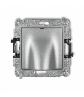 MINI Mechanizm wypustu kablowego Srebrny metalik Karlik 7MWPK