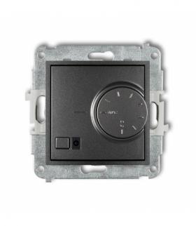 MINI Mechanizm elektronicznego regulatora temperatury z czujnikiem podpodłogowym Grafitowy Karlik 11MRT-1