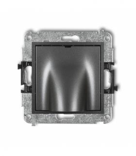 MINI Mechanizm wypustu kablowego Grafitowy Karlik 11MWPK