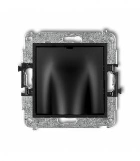 MINI Mechanizm wypustu kablowego Czarny mat Karlik 12MWPK