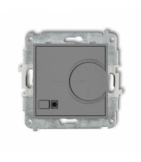 MINI Mechanizm elektronicznego regulatora temperatury z czujnikiem podpodłogowym Szary mat Karlik 27MRT-1