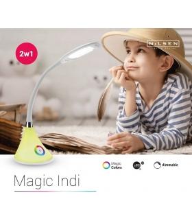 Magic Indi Lampka biurkowa LED 3 stopnie jasności