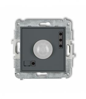 MINI Mechanizm elektronicznego czujnika ruchu Grafitowy mat Karlik 28MCR-1