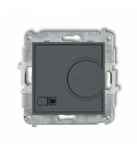 MINI Mechanizm elektronicznego regulatora temperatury z czujnikiem powietrznym Grafitowy mat Karlik 28MRT-2