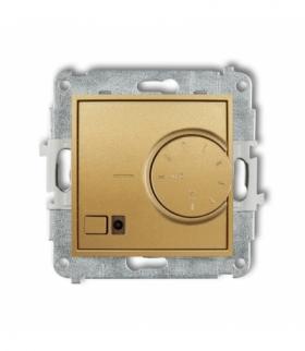 MINI Mechanizm elektronicznego regulatora temperatury z czujnikiem podpodłogowym Złoty Karlik 29MRT-1