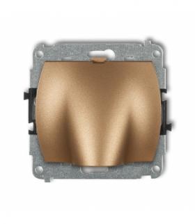 TREND Mechanizm wypustu kablowego Złoty metalik Karlik 8WPK