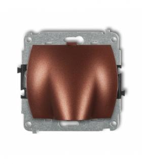 TREND Mechanizm wypustu kablowego Brązowy metalik Karlik 9WPK