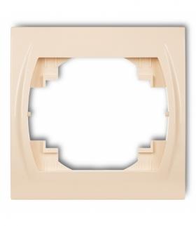 LOGO Ramka pozioma pojedyncza Beżowy Karlik 1LRH-1