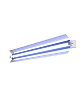 PURELIGHT LUG DIRECT OPTI Specjalistyczna oprawa UV-C HF 30W/G13 AS ALU biały+licznik+pilot IR