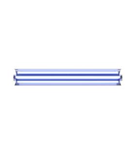 PURELIGHT LUG DIRECT OPTI Specjalistyczna oprawa UV-C HF 30W/G13 SM ALU biały+licznik+pilot IR