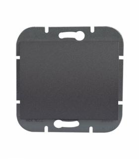 Onyx Wyłącznik klawiszowy instalacyjny p/t 10A, 250V, schodowy, podświetlany WP-5O/S ANTRACYT Abex 9002265