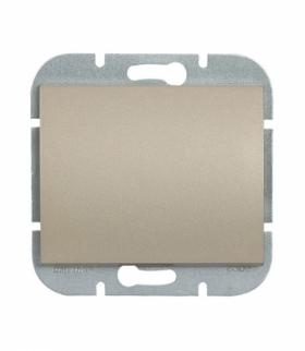 Onyx Wyłącznik klawiszowy zwierny p/t 10A, 250V światło, dzwonek (uniwersalny) WP-6/7O SATYNA Abex 9002223