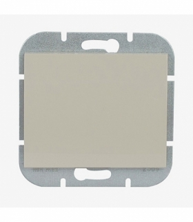 Onyx Wyłącznik klawiszowy zwierny światło, dzwonek p/t 10A, 250V podświetlany WP-6/7OS BEŻOWY Abex 9002202