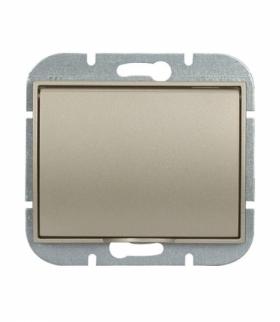 Onyx Gniazdo wtyczkowe pojedyncze p/t 2p+Z 16A, 250V, bryzgoodporne z klapką w kolorze wyrobu (LH) PT-16OH SATYNA Abex 9002300
