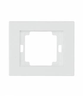 Onyx Ramka pojedyncza do serii Onyx RA-1O BIAŁY Abex 9002343