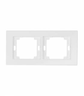 Onyx Ramka podwójna do serii ONYX RA-2O BIAŁY Abex 9002348