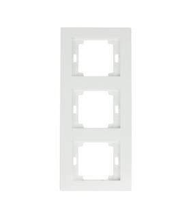 Onyx Ramka potrójna pionowa do serii Onyx RA-3OP BIAŁY Abex 9002397