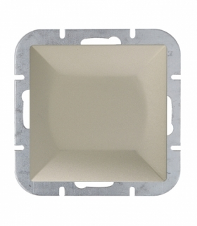Perła Wyłącznik klawiszowy instalacyjny p/t 10A, 250V, schodowy WP-5P SATYNA Abex 9000055