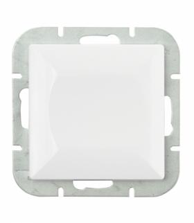 Perła Wyłącznik klawiszowy zwierny p/t 10A, 250V światło , dzwonek(uniwersalny) WP-6/7P BIAŁY Abex 9000067