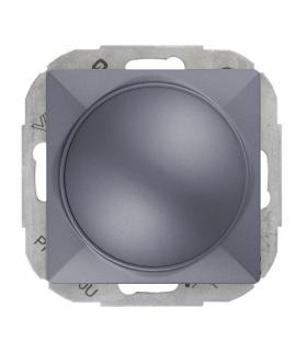 Perła Ściemniacz obrotowy 230V, 50Hz, Pmin:60W, Pmax:400W (moduł) SO-P ANTRACYT Abex 9000224