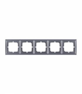 Perła Ramka poczwórna do serii Perła RA-5P ANTRACYT Abex 9000329