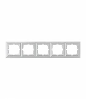 Perła Ramka poczwórna do serii Perła RA-5P SREBRNY Abex 9000325