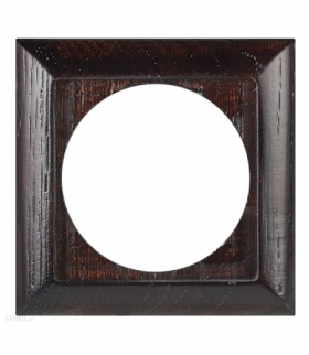 Perła Ramka drewniana pojedyncza do serii Perła RA-1PN WENGE Abex 9000334