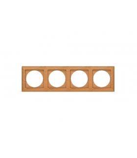 Perła Ramka drewniana poczwórna do serii Perła RA-4PN BUK Abex 9000341