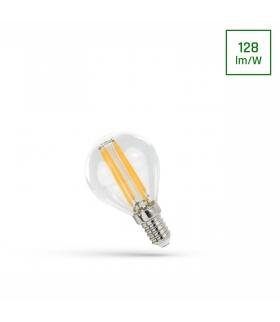 LED KULKA E-14 230V 4W COG NW CLEAR SPECTRUM WOJ+14334