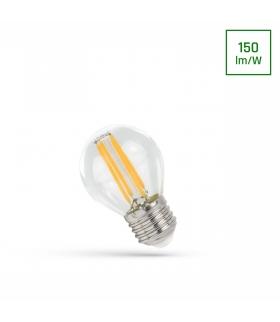 LED KULKA E-27 230V 6W COG NW CLEAR SPECTRUM WOJ+14397
