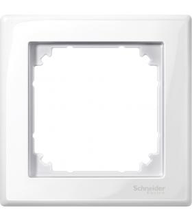 Merten Ramka M-Smart bez loga pojedyncza biały polarny