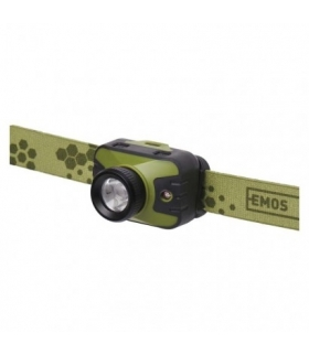 Latarka czołowa LED CREE 330 lm, 200m 3× AAA z zoomem EMOS P3539