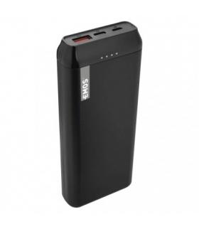 Powerbank EMOS ALPHAQ 20000 mAh czarny, micro USB + USB C EMOS B0525B