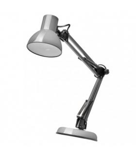 Lampa biurkowa E27 LUCAS 48 cm ciemno szary EMOS Z7609G