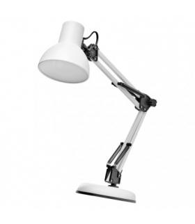 Lampa biurkowa E27 LUCAS 48 cm biały EMOS Z7609W