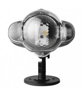 Projektor LED gwiazdki zimna biel + ciepła biel IP44 EMOS ZY2308