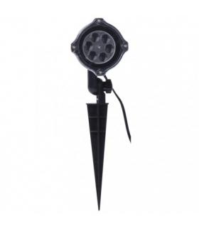 Projektor LED białe śnieżynki IP44 EMOS ZY2373