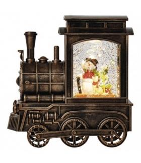 Dekoracje - 1 LED lokomotywa 17x16 cm, 3x AA WW, timer EMOS ZY2375