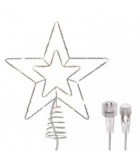 Oświetlenie łączone - choinka 30 LED 28 cm, ciepła biel EMOS ZY2379