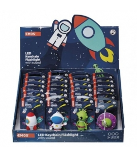 Brelok LED kosmos 3× LR54, box 24 EMOS P4712