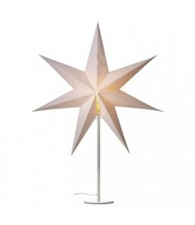 Dekoracje - świecznik papier. gwiazda, na żarówkę E14 EMOS ZY2357
