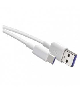Przewód USB 2.0 wtyk A -wtyk C, 1,5m biały EMOS SM7026