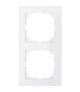 Merten Ramka M-Pure podwójna biały polarny