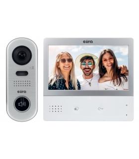 WIDEODOMOFON EURA VDP-59A5 2EASY kolor 7 dotykowy ekran, biały