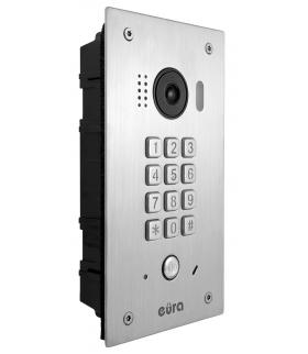KASETA ZEWNĘTRZNA WIDEODOMOFONU EURA VDA-92A5 2EASY - jednorodzinna, podtynkowa, mechaniczny szyfartor
