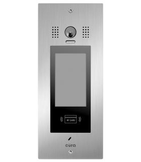 KASETA ZEWNĘTRZNA EURA PRO IP VIP-61A5 - wielolokatorska, podtynkowa, LCD, czytnik RFID