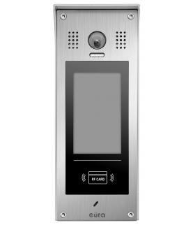 KASETA ZEWNĘTRZNA EURA PRO IP VIP-60A5 - wielolokatorska, natynkowa, LCD, czytnik RFID