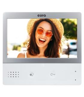 MONITOR EURA PRO IP VIP-01A5 - ekran 7, biały, głośnomówiący, dotykowy