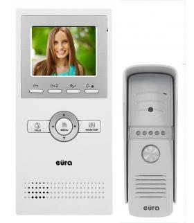 WIDEODOMOFON EURA VDP-A1N9 - jednorodzinny, LCD 3,5